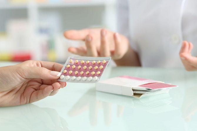 Контрацептиви и опаѓање на косата